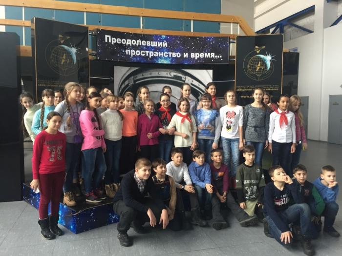 Пионеры Красногорска проложили путь в космос