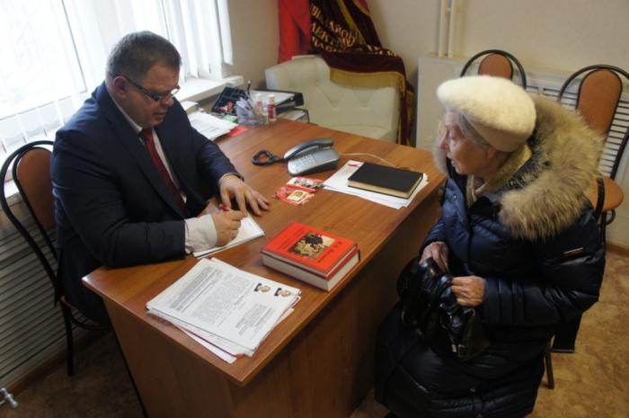 Александр Наумов провёл приём в Домодедово