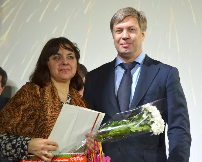 Алексей Русских поздравил женщин Луховицкого района