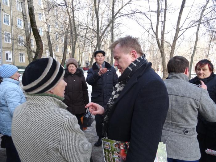 Александр Голуб: «Люди прекрасно понимают и поддерживают то, что предлагают коммунисты»