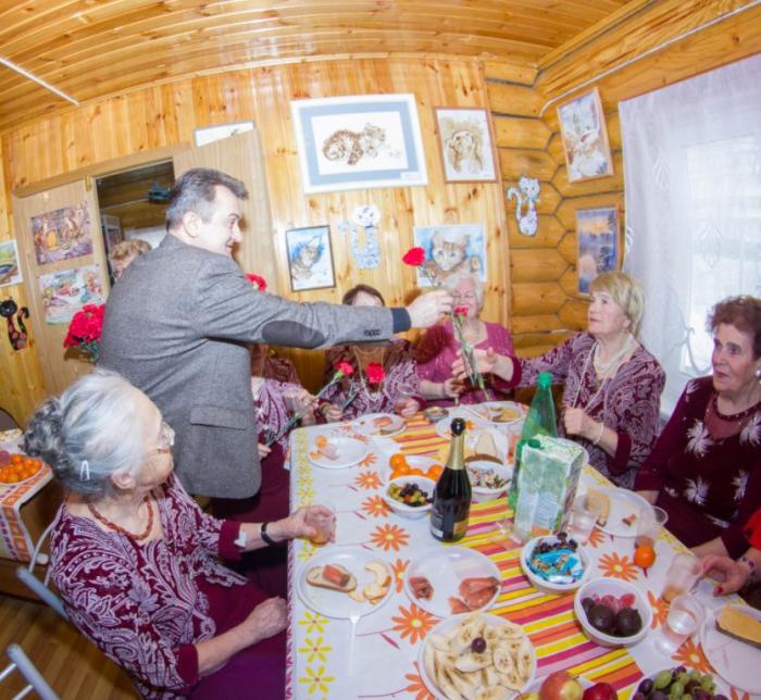 Международный женский день во Фрязино отметили в тёплой и душевной обстановке