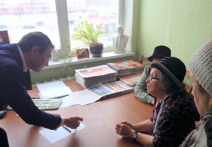Депутат Кононенко рассказал «детям войны» о борьбе за их права