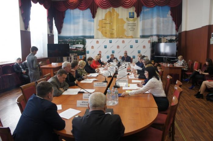 Выездное заседание Комитета Мосблдумы по местному самоуправлению  в г. Солнечногорск