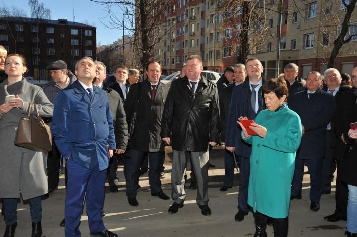 Виталий Фёдоров принял участие в проведении выездного круглого стола Мособлдумы на тему капремонта многоквартирных домов