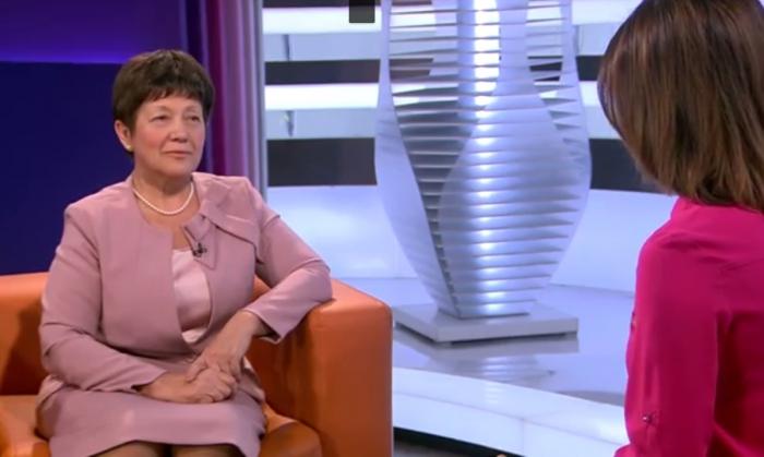 Наталья Еремейцева приняла участие в программе Интервью на телеканале 360
