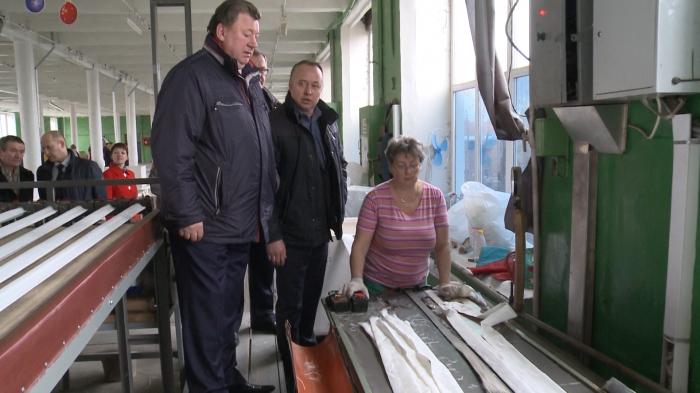 Визит В. И. Кашина в Павловский-Посад