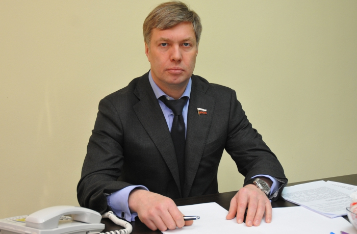 Депутат Госдумы А.Ю. Русских ответил на вопросы коломенцев (видео)
