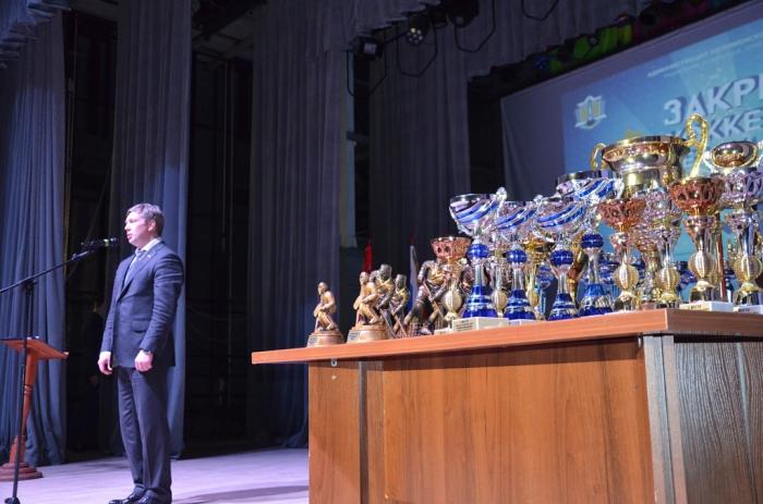 Алексей Русских принял участие в церемонии закрытия хоккейного сезона в Коломенском районе