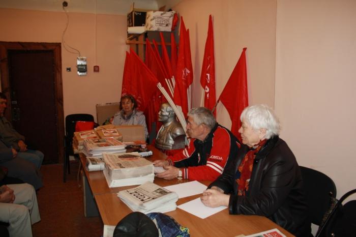 Коммунистический субботник в городе Электрогорске
