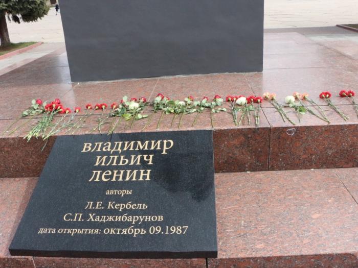 Домодедовские коммунисты отметили 146-ю годовщину со дня рождения В.И. Ленина