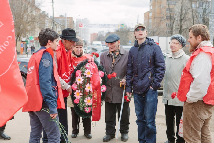 Пушкинские коммунисты отметили день рождения В.И. Ленина
