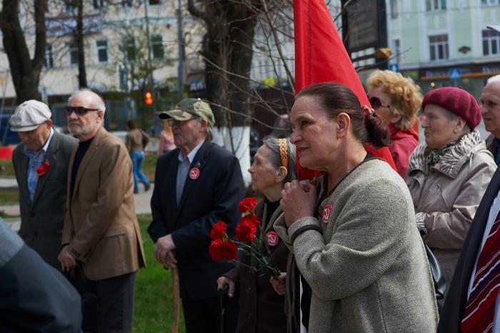 День весны и труда отметили Сергиево-Посадские коммунисты