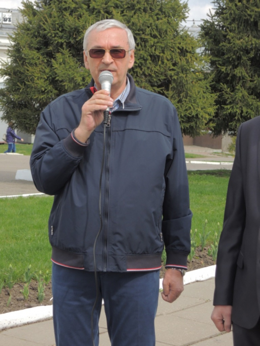 Коломна. Первомайский митинг на площади Двух революций