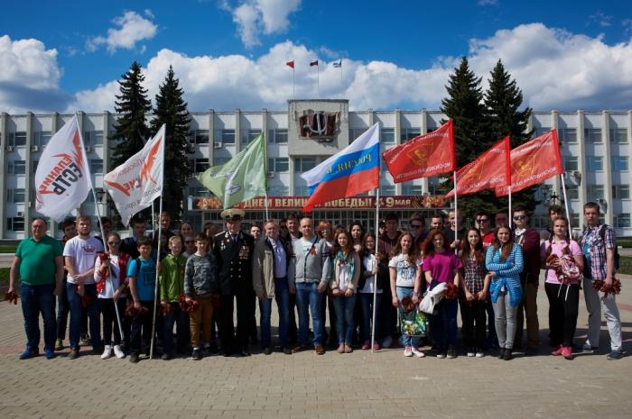 Акция «Георгиевская лента. Носи достойно» состоялась сегодня в Сергиевом Посаде