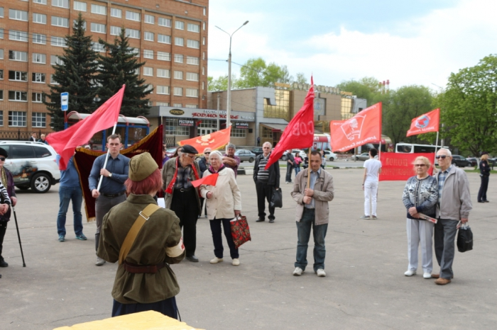 День весны и труда отметили в городском округе Подольск