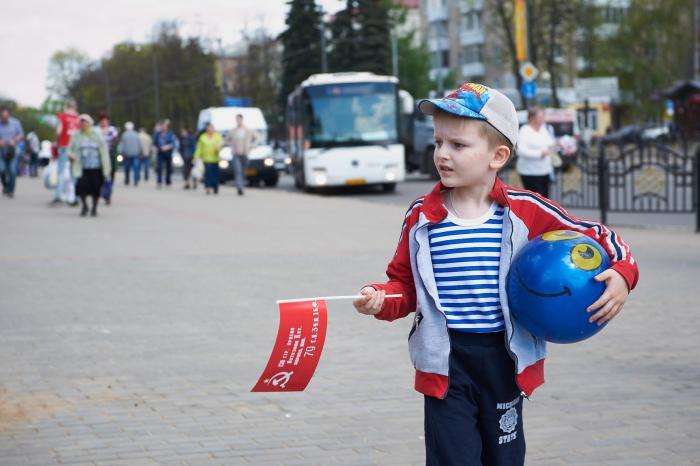 Знамя Победы в Сергиевом Посаде