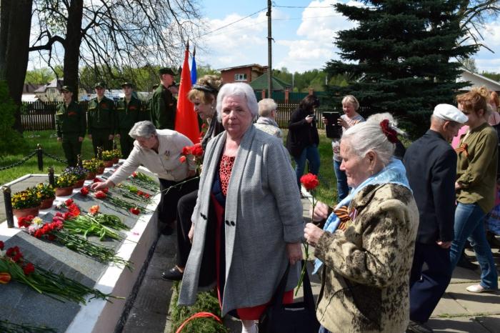 Митинг-концерт в деревне Оболдино
