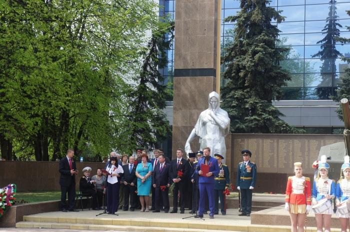 Климовск отметил День Победы