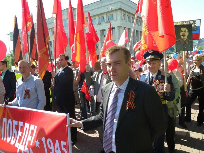 Люберчане отпраздновали день Победы