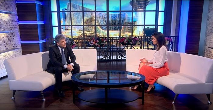 Павел Грудинин об импортозамещении в программе Интервью 360