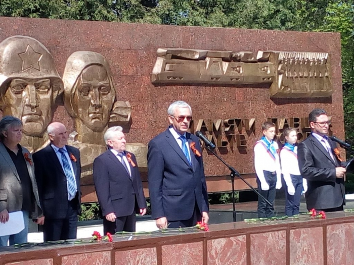 Валентин Куликов поздравил коломенцев с праздником Великой Победы