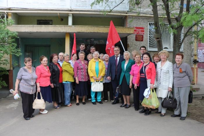 Домодедово. Александр Наумов поздравил поколение «Дети Войны» с днём Великой Победы!