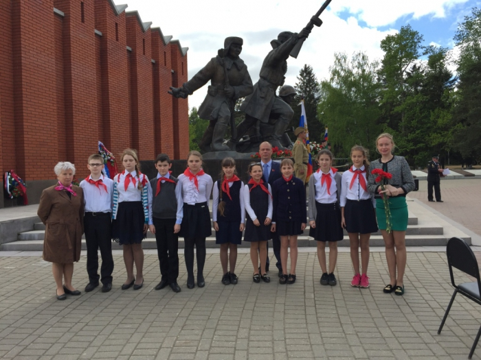 Истринские и красногорские школьники посетили военно-исторический музей