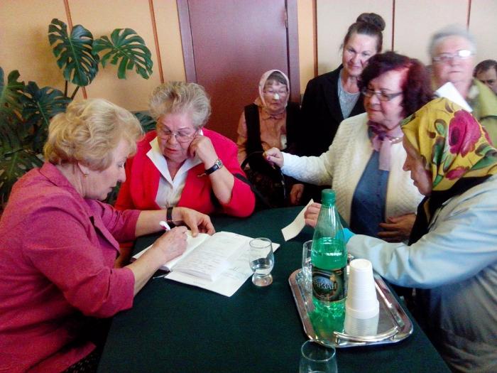 Встреча ветеранов в городе Орехово-Зуево