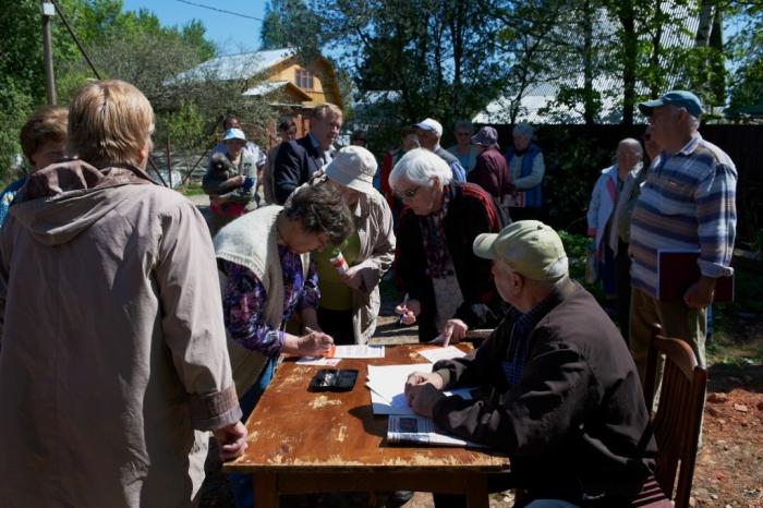 Народный референдум продолжается в Сергиевом Посаде