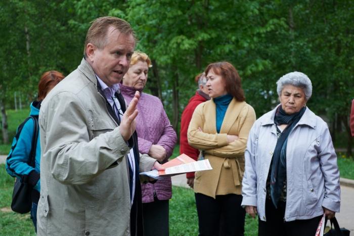 В Богородском прошли встречи с «красными»
