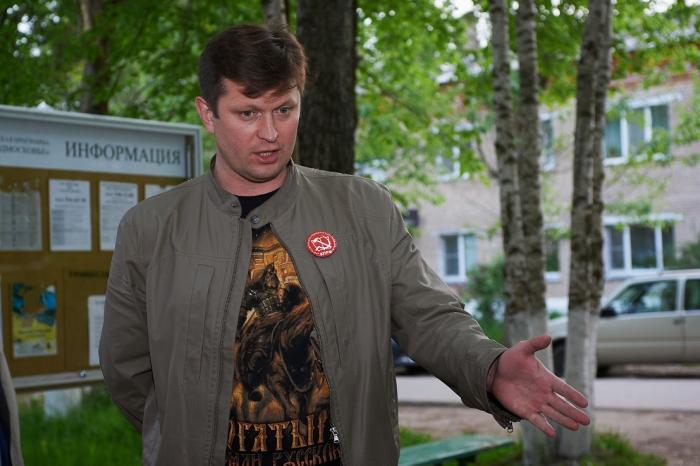 Коммунисты провели встречу с жителями Березняков