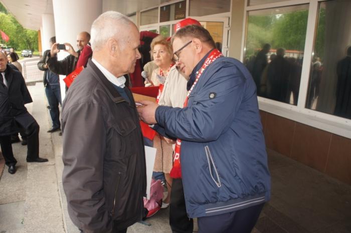 Александр Наумов выступил на митинге в защиту закона «О детях войны» в Чехове