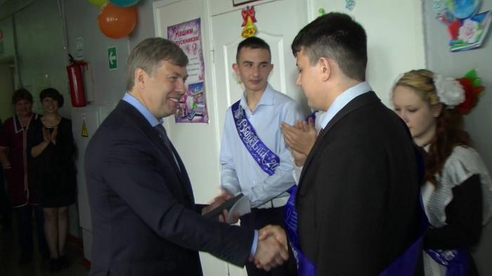 Алексей Русских поздравил зарайских и серебряно-прудских школьников с окончанием учебного года