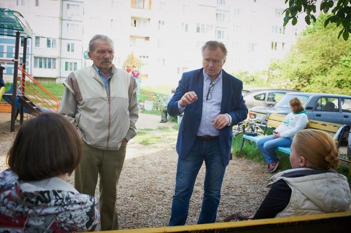Александр Голуб встретился с жителями Хотьково