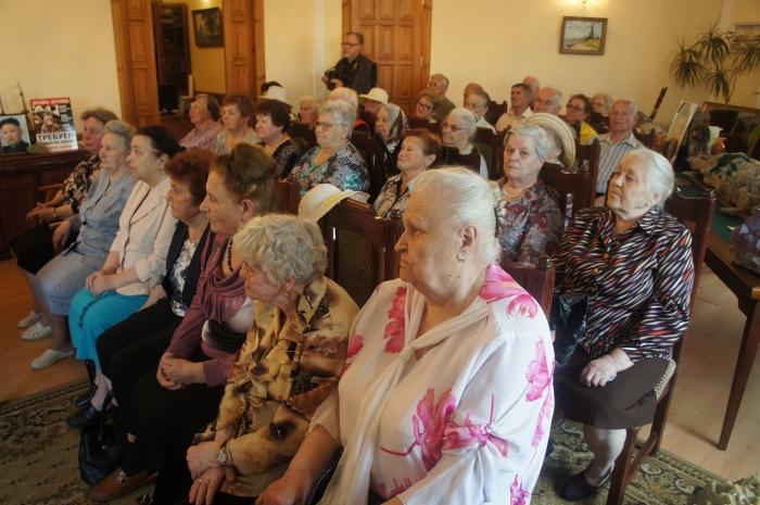В Серпухове прошла встреча с детьми войны