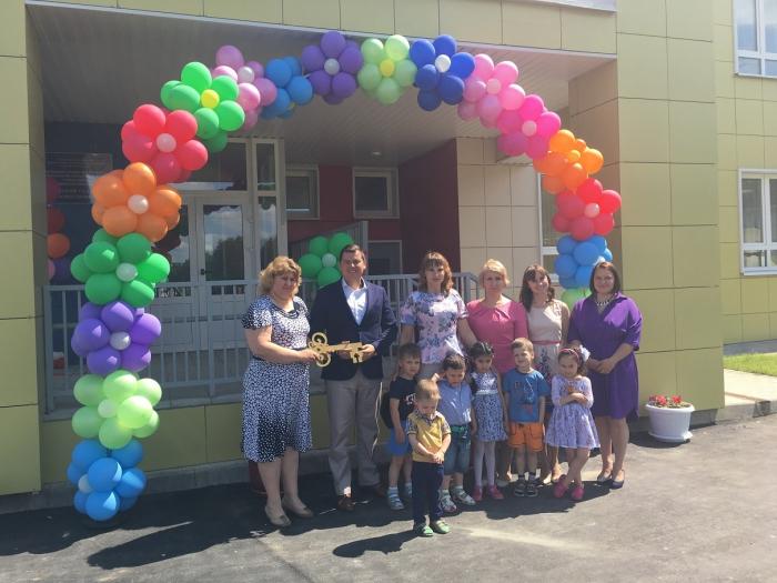 Михаил Авдеев принял участие в открытии детского сада «Светлячок»