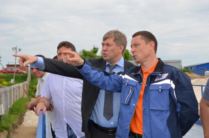 Алексей Русских осмотрел реконструкцию гидроузла на реке Оке  в Луховицком районе