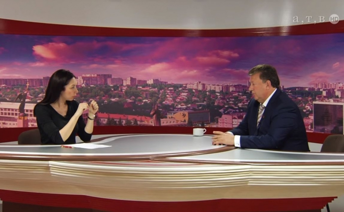 Интервью В.И.Кашина телеканалу АТВ-Ставрополь в рамках проведения Пушкинских дней на Северном Кавказе