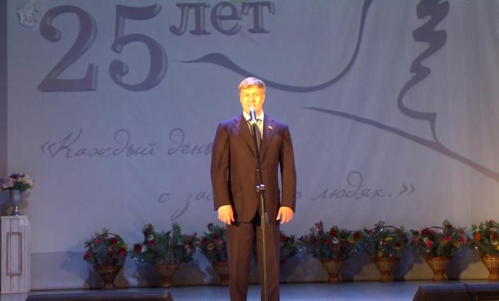 Алексей Русских поздравил с юбилеем Егорьевский Центр социального обслуживания «Журавушка»