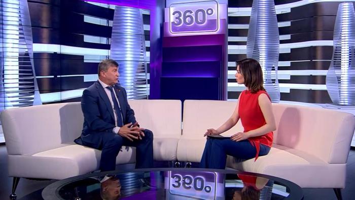 Константин Черемисов принял участие в программе Интервью 360