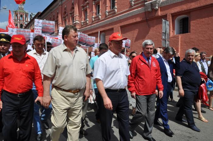 В Москве состоялась Всероссийская акция «Анти–НАТО»