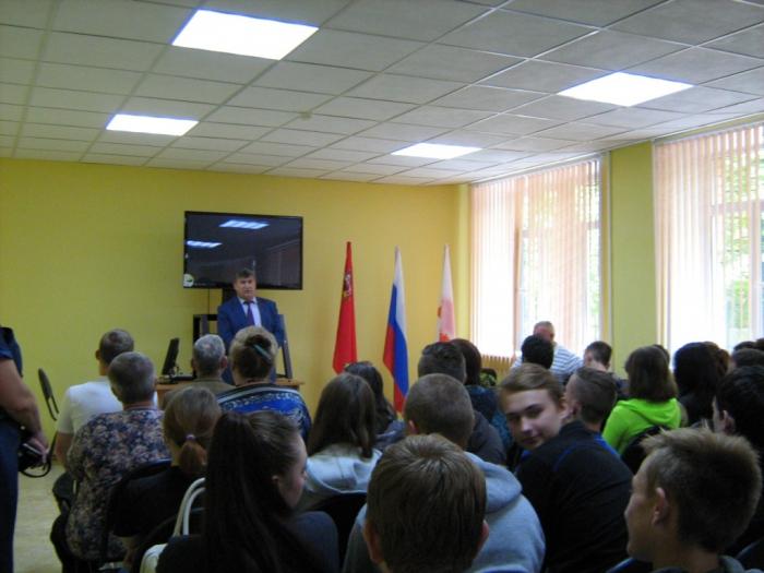 Константин Черемисов встретился с жителями Можайского района