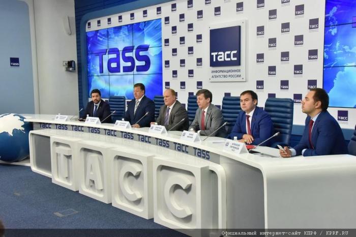 Г.А. Зюганов: Эти выборы как июнь 41-го и август 91-го!