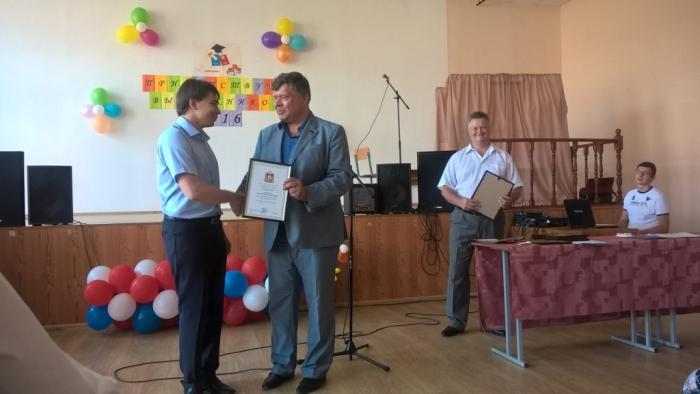 Олег Емельянов поздравил выпускников Бронницкого филиала МАДИ