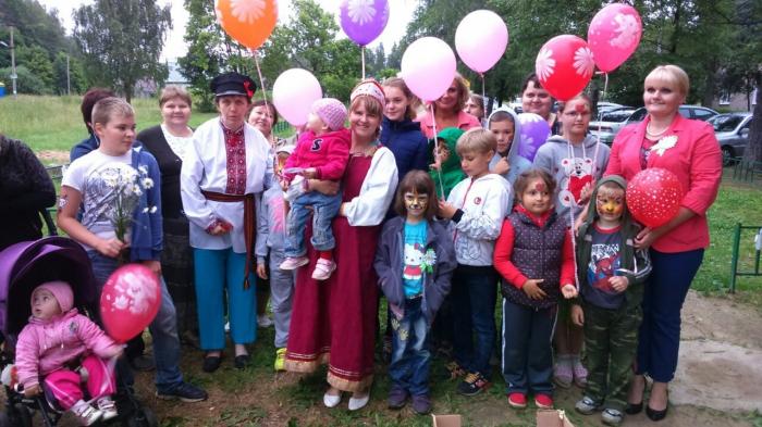 День семьи, любви и верности отметили в Загорянском