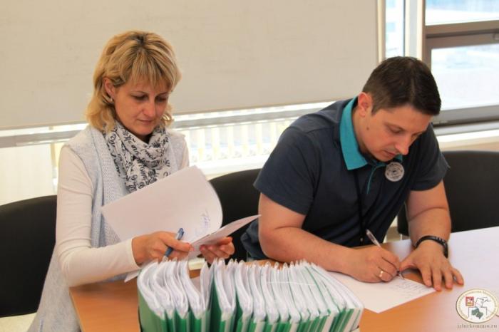 КПРФ подала в Мособлизбирком список кандидатов в депутаты Московской областной Думы по одномандатным избирательным округам