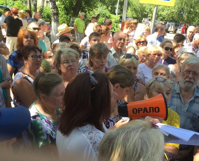 Сход в Вишняковских дачах единогласно выразил недоверие власти