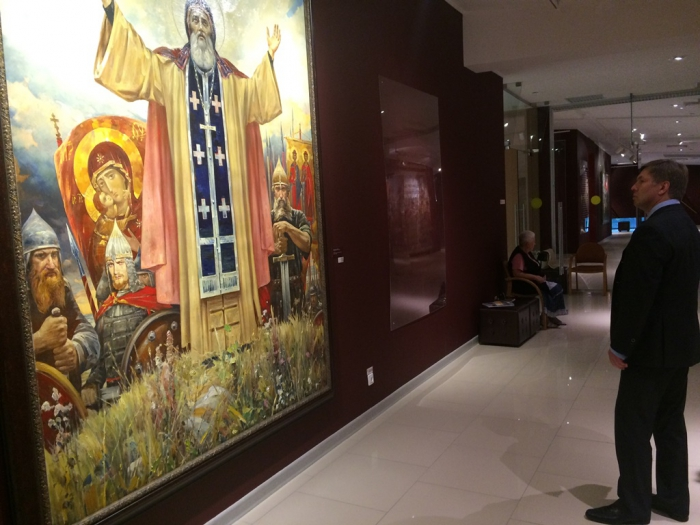 Алексей Русских принял участие в открытие выставки «Большой театр. Эпизоды истории» в МВК «Новый Иерусалим»
