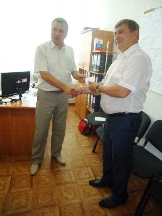 Константин Черемисов получил удостоверение кандидата в депутаты