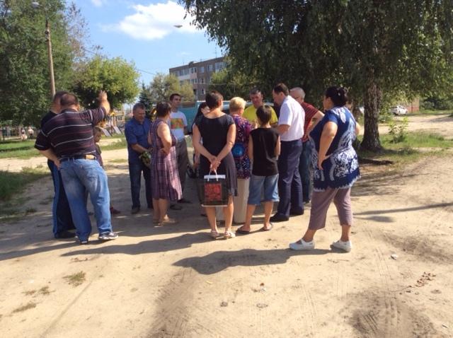 Виталий Федоров встретился с жителями Воскресенского района